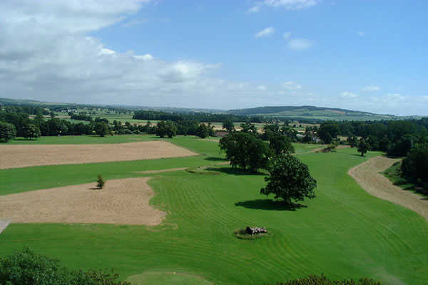 Hoddom Castle Golf Club In Dumfries And Galloway