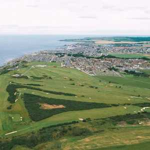 Buckpool GC: Aerial view