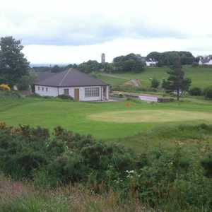 Helmsdale GC: #9 & clubhouse