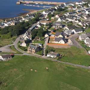 Tarbat GC: Aerial view