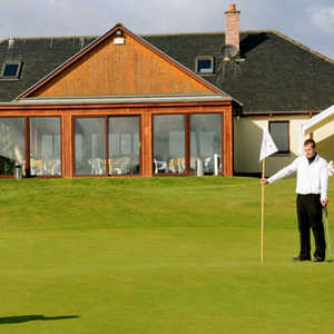 Strathmore GC: Clubhouse