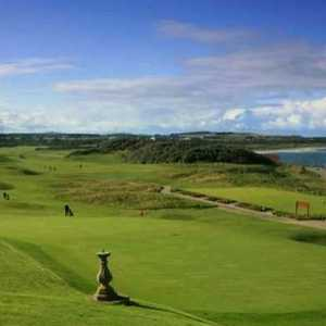 Old Course at Moray GC: View from #18