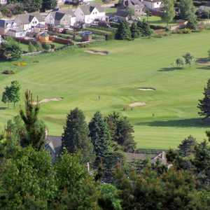 Ballater GC: Aerial view