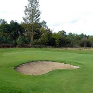 Larkhall GC: bunker on no. 4