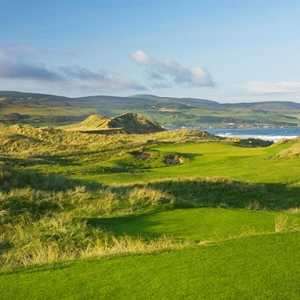 14th hole at Machrihanish Dunes