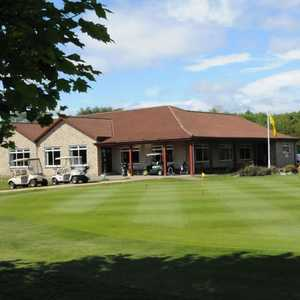 The clubhouse at Thornton GC