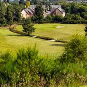 Ariel view of Muir of Ord Golf Club