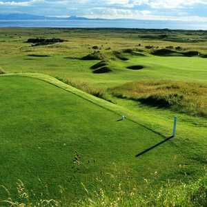 The 12th hole on the Gullane 2 course