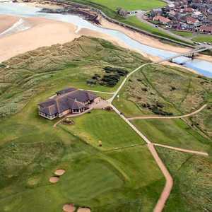 Peterhead GC: aerial view