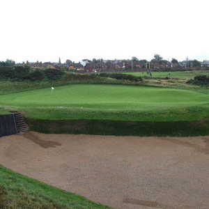 Prestwick Golf Club: 17th green