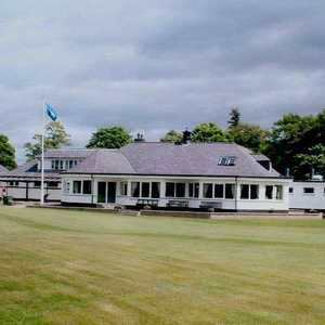Edzell GC's clubhouse