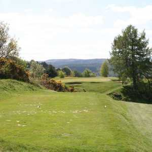 Par 3 at Dunkeld & Birnam Golf Club