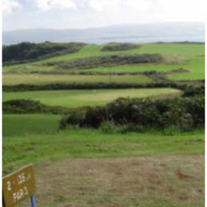 Isle of Gigha Golf Club - 2nd Tee