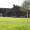 A view of the clubhouse at Peterculter Golf Club
