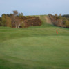 A fall view of green at Alness Golf Club