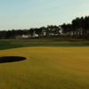 A view of the 5th hole at Fidra Course from Archerfield Links