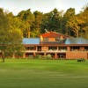 A view of the clubhouse at Bothwell Castle Golf Club