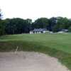 A view of the clubhouse at Thornhill Golf Club