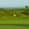A view of the 2nd green at Beith Golf Club