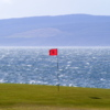 A view of the 8th green at Machrie Bay Golf Club