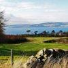 A view of hole #7 at Skelmorlie Golf Club