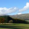 An autumn view from Muckhart Golf Club
