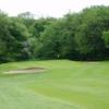 A view of green #6 at Bellshill Golf Club