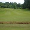 A view of fairway #2 at Lochwinnoch Golf Club
