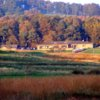 A fall view from West Linton Golf Club