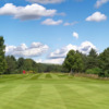 A view of the 18th green at Ladybank Golf Club