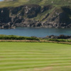 View of the 13th hole from the Dunskey Course at Portpatrick Golf Club