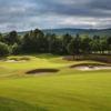 The bunkers at Spey Valley Golf Course