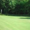 A view of the 1st green at Lochwinnoch Golf Club