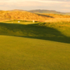 A view from a green at Machrihanish Golf Club