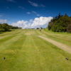 A view from a tee at Portlethen Golf Club