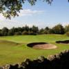 A view of a well protected green at Kilmacolm Golf Club