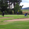 View of the 1st green at Tarland Golf Club