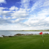 A view of the 2nd green at Bute Golf Club